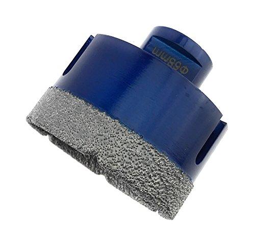 PRODIAMANT Premium Diamant-Bohrkrone Fliese/Feinsteinzeug 68 mm x M14 PDX955.880 68mm passend für Winkelschleifer