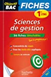 Fiches Sciences de gestion 1re STMG (...
