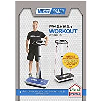 VIBRAPOWER Coach Whole Body Vibration Plate Workout DVD