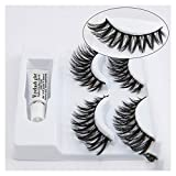 Crisscross Wispy False Wimpernverlängerung 2 Paar Glamour Fake Lashes