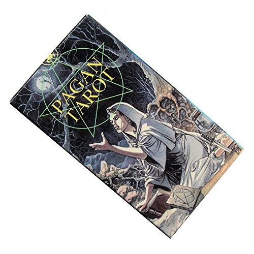 Pagan Tarot par Gina M. Pace, 78 Cartes avec Instructions en Anglais (Poche)