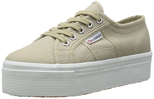 Superga Damen 2790 Acotw Linea Up and Sneakers Grau (Taupe)