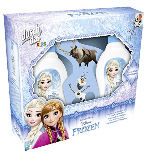Duschdas Geschenkset Frozen Duschbad mit Fingerpuppe, 1er Pack