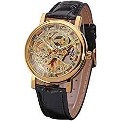 LEORX Men Boy Fashion Automatic Mechanical Wrist Watch - 1 Piece