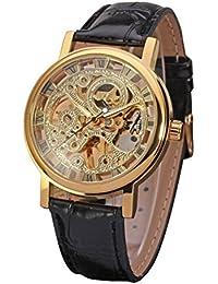 adc99d932d9 LEORX Hombres Chico moda reloj de pulsera mecánico automático ...