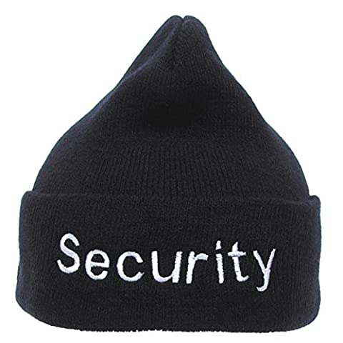 bkl1® Roll Bonnet d'hiver Bonnet Security Noir Bonnet wachdienst 486