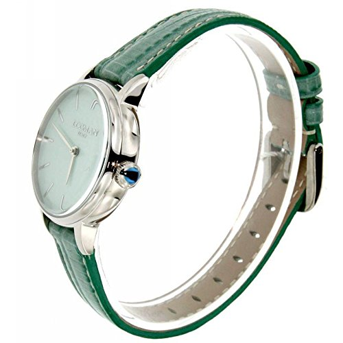 Locman Dolce Vita 1960 0253 a12 a-00gankpg Quartz Watch (Rechargeable) quandrante Steel Green Leather Strap