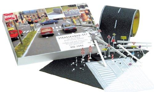 busch-h0-set-de-construccion-de-carretera-importado-de-alemania