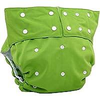 LukLoy - Pañales de tela para hombres adultos para la incontinencia - Apertura doble, ajustable, lavable, reutilizable y sin fugas