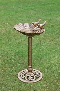 Westwoods Shell Basin Bird Bath from Ackerman