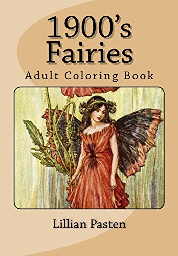 1900's Fairies: Adult Coloring Book