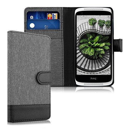 kwmobile HTC Desire 526G Hülle - Kunstleder Wallet Case für HTC Desire 526G mit Kartenfächern & Stand
