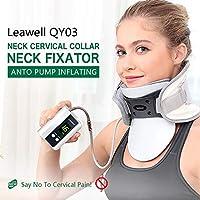 Leawell Cervical Traktionsgerät-QY03 Nackenmassagegerät und Stütze Luft-Traktion | CE-Zertifizierung (Größe B(... preisvergleich bei billige-tabletten.eu