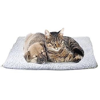 Demiawaking autochauffant Couverture Pad thermique Tapis chauffant Pad pour chat/chien