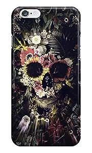 Dreambolic Garden-Skull Back Cover For Iphone 6S