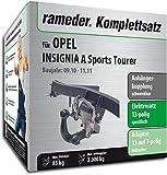 Rameder Komplettsatz, Anhängerkupplung schwenkbar + 13pol Elektrik für Opel Insignia A Sports Tourer (116974-07861-1)