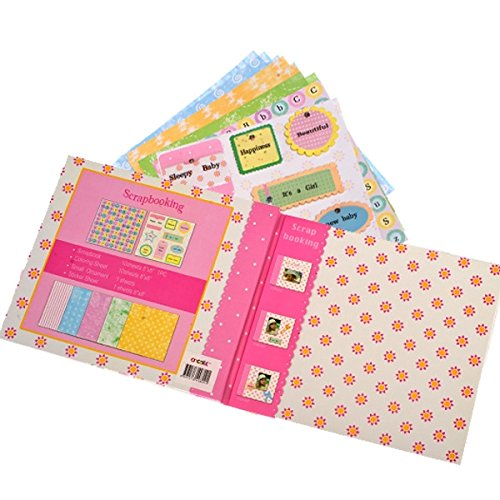 349809 Create - Baby Scrapbook - rosa -