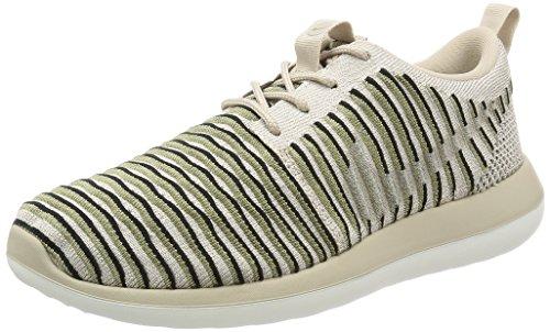 Nike W Roshe Dois Flyknit Sapatos Senhoras Sneaker Sneakers Bege 844929 200 Multicolor