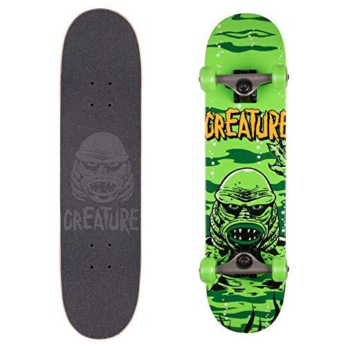 Creature Skateboard Komplett Black Lagoon - 7.5 Inch Grun (One Size, Grun)