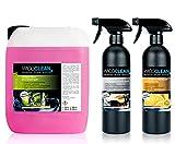 WicoClean Auto Kit Remover insectes–Cockpit Entretien–Nettoyant multi-usages orangenöl 6l