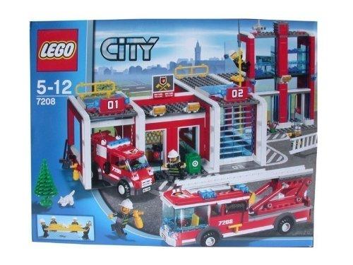 Preisvergleich Produktbild Lego 7208 City grosse Feuerwehrstation