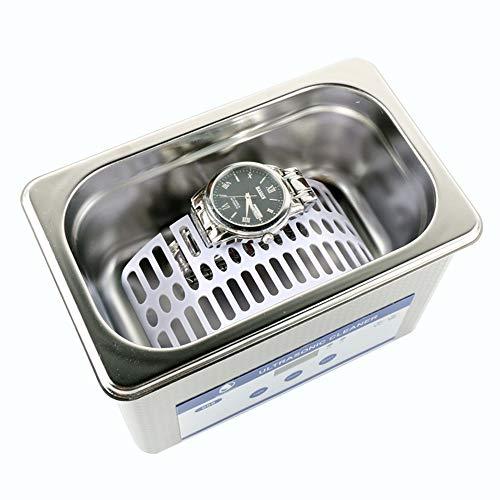 Wenhu Acciaio Inossidabile Digital Ultrasonic Cleaner Saluto Intelligente ad ultrasuoni pulitore dei monili per Il Telefono Vetro Lens Clean Tool