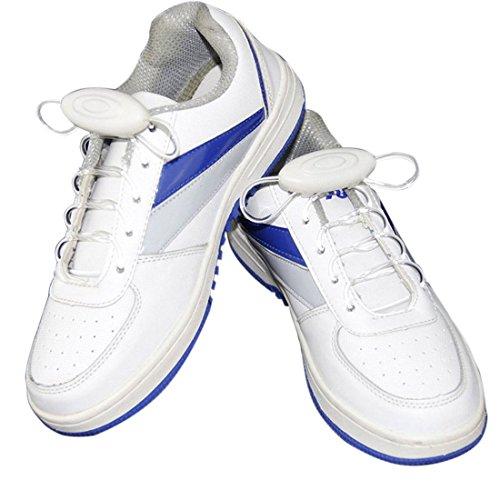 LED Cordones - SODIAL(R) Intermitente Bright LED Cordones de los Zapatos Cordones Luminosos de 80cm multicolor
