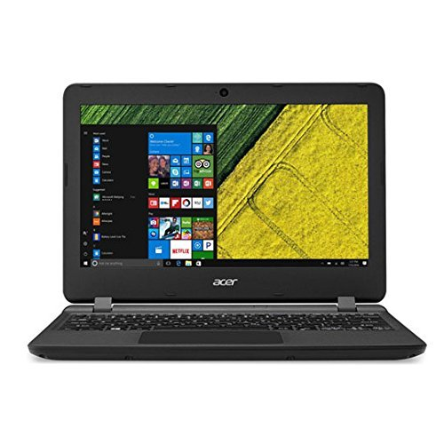 Acer Aspire ES 11 ES1-132 11.6-Inch Notebook - (Black) (Intel Celeron N3350, 4 GB RAM, 32 GB SD, Windows 10)