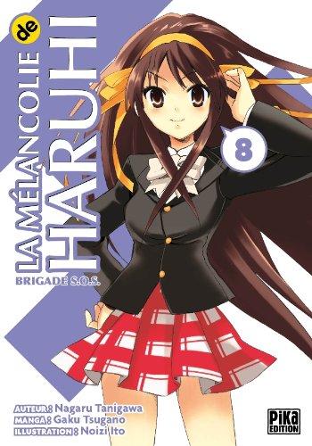 La mélancolie de Haruhi, Tome 8 : par Nagaru Tanigawa, Gaku Tsugano, Noizi Ito