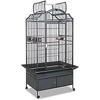 Montana Cages | Papageienkäfig, Käfig, Voliere Las Vegas I - Antik mit Unterschrank