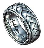 Baldessarini Sterling Silber Herren gemustert Designer Ring Y2010R/90/00/