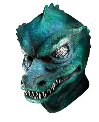 2009 Star Trek Kostüm (Rubie's Star Trek Gorn Maske Latex Erwachsenen Klassik)