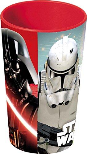 NOVASTYL 8011614 Star Wars Gobelet Plastique/Polypropylène Rouge 27 cl