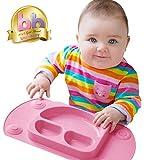 EasyMat tragbare Baby Saugplatte (Pink)