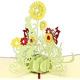 Cartes 3D Pop up Cartes Papier Spiritz Carte Cadeau Anniversaire Carte Tnvitation Anniversaire Carte de Voeux Mariage Happy Birthday Card Cartes Nouvelle Annee