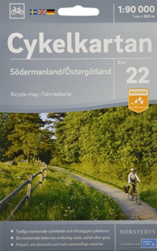 Sodermanland / Ostergotland cycling map 2018