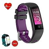 AUNEY Fitness Tracker Aktivität Tracker Sport Band Smart Armband Armband Wasserdicht Schrittzähler