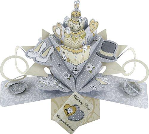 Pop Up 3D Karte - Hochzeitskarte - Wedding Day - Hochzeitstag