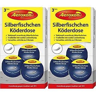 Aeroxon - Silberfisch Köderdose - 6 Stück