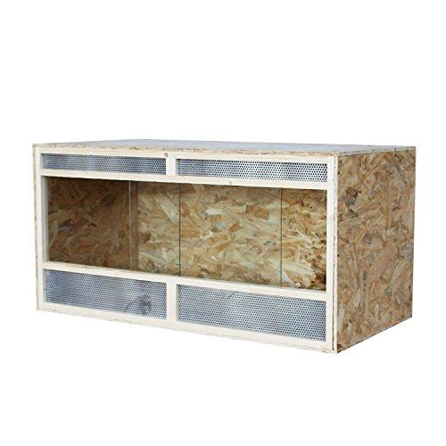 OSB Holzterrarium 150x60x60cm PawHut