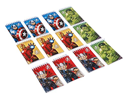 Avengers 12 Notizbücher (Avengers Dress Up)