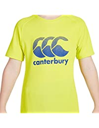Canterbury Boys' Vapodri Large Logo.e747075-t05 Training T-Shirt