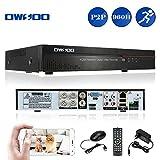 OWSOO 4CH Full 960H/D1 Network DVR CCTV Sicurezza H.264 P2P Controllo di Telefono Email Allarme di Rilevamento del Movimento per Telecamera di Sorveglianza - OWSOO - amazon.it
