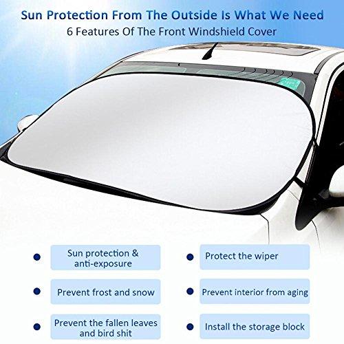 Prom-near-auto-sole-estivo-auto-Frontale-Finestra-protezione-solare-cambio-Schirme-Dunkle-in-alluminio-di-calore-abgeschirmte-sole-Tappetini-di-protezione-80-140-cm-per-la-maggior-parte-dei-finestrini