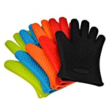 #4: BBQ Gloves - Best Versatile Heat Resistant BBQ Grill Gloves, Barbecue Mitt, Cooking Gloves, Oven Gloves - Protect Your Hands And Avoid Accidents - Excellent Oven Mitts For Outdoor and Kitchen Use By KARP - Sold By Pair
