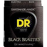 DR B EXBK BKB6-30 Extra Black Beauties Jeu de cordes pour Basse 6 cordes