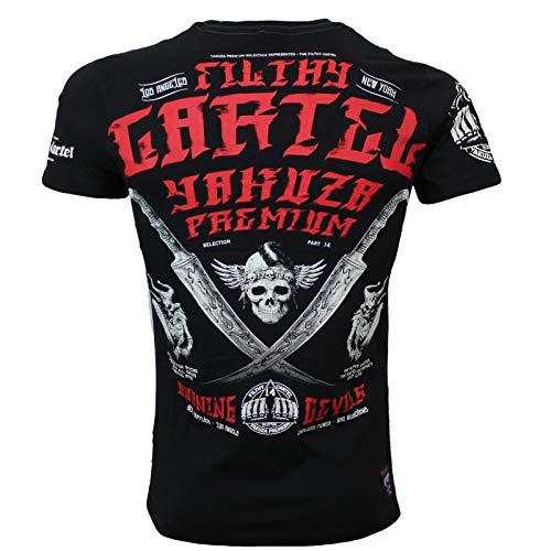 Yakuza Premium Herren T-Shirt YPS 2603 schwarz