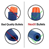 NextX-100pcs-Dardos-de-espuma-Compatible-con-pistolas-NERF-Bullets-Caja-Embalada-para-NERF-Tri-Strike-serie-Elite-Blasters