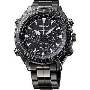 Seiko orologio da uomo/Cronografo al quarzo, in acciaio INOX SSG003P1