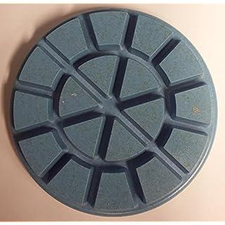 Diamond polishing pads for wet or dry use on concrete, marble or granite floors. 80mm diameter velcro backed. 6mm depth of layer. (800 grit)
